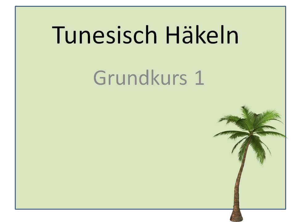 Berlidesign Häkelnlernen01 Tunesisches Häkeln